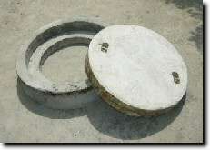Manhole Cover with CC Ring