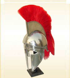 Corinthian Helmet With Orange Plum