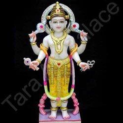 Marble Varun Dev Statue