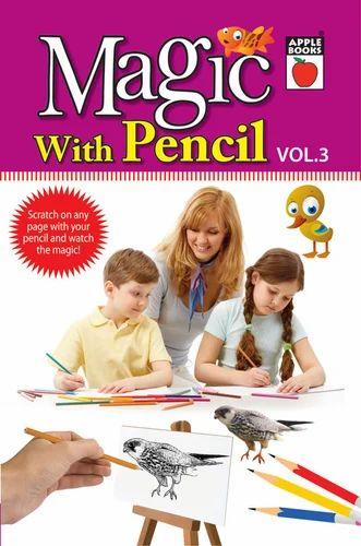 Magic With Pencil  Vol-3 Book