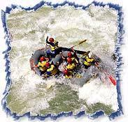 Rafting on River Ganges