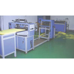 Knife Pleating With Online Slitting Machine