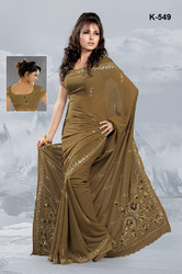 Thread Work Sarees