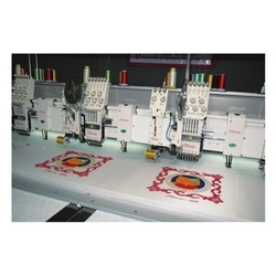 cording chenille mixed head embroidery machines