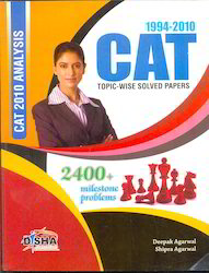 CAT Topic-wise Solved Papers 1994-2010