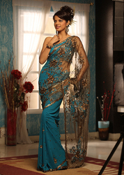 Daily Wear Embroidered Sarees