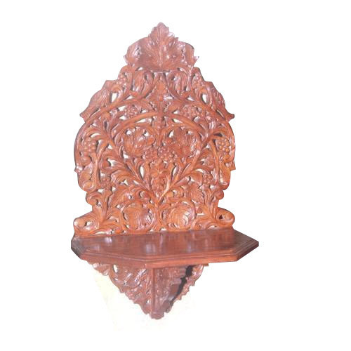 Wooden Handicraft Wall Bracket Manufacturer From Saharanpur