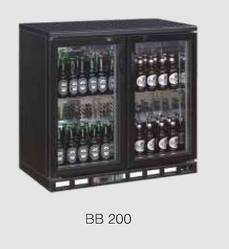 Back Bar - Black - BB-200