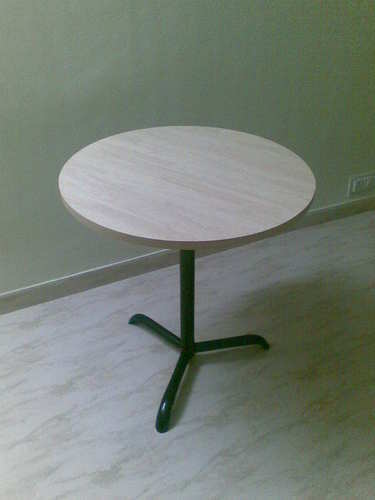 Restaurant furniture round table manufacturer