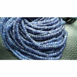 Iolite Faceted Beads Strand