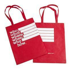 Printed PP Non Woven Bags