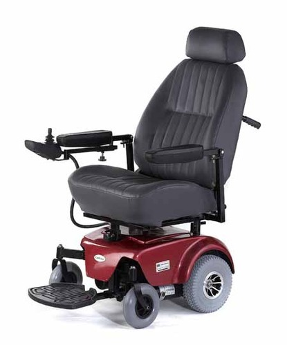Deluxe Electric Power Wheelchair