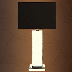 stained glass mirror table lamp