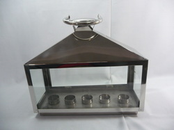 Stainless Steel Glass Lantern