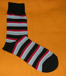 AOV /MN/ST/21 Men Stripe Socks