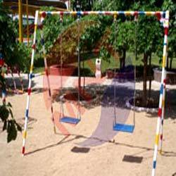 Kids Double Seat Playground Swings