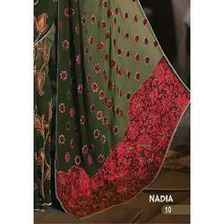 Flower Border Saree