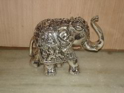 White Metal Elephant