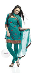 Cute Green Salwar Kameez Suits