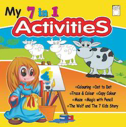 7  In 1 Activitic Book Yellow