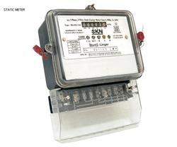3 Phase Static Energy Meter With LCD