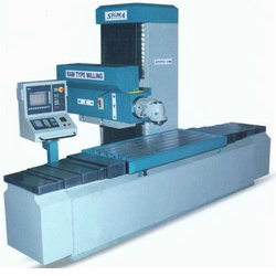 CNC Ram Type Milling Machine