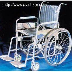 wheel chair folding deluxe