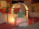 Wedding Lighting Welcome Gate