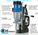 BDS MAB 825 - Magnetic Core Drilling Machine