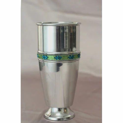 Aluminium Vases Decorative Aluminum Flower Vase Exporter From