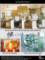 Foundry with Induction Furnace