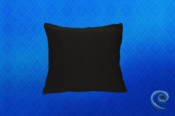 Cushion Cover With Black Checks