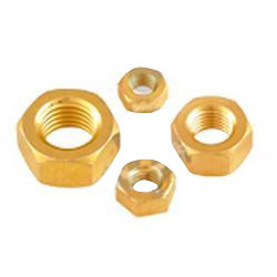 Brass Hex Nut Full