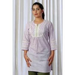 Stylish Long White Kurta
