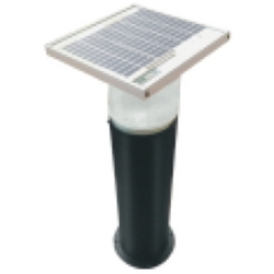 Solar LED Bollard Garden Light Luminaire