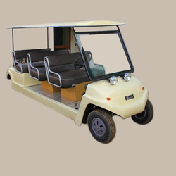 battery operated cart 6 seater all front