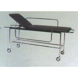Patient Trolley with Fixed Cushioned Top