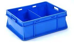 Blue Dairy Crates