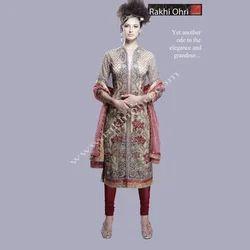 Full Embroidery Designer Suit