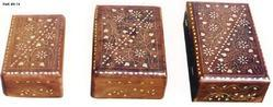 Carved Wooden Jewelry Boxes