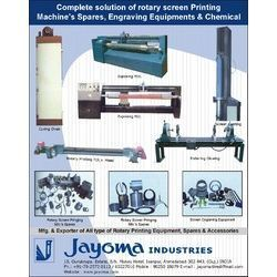 Textile Printing Machinery Spare