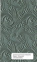Two Tone Embossed Papers For Scrapbooking