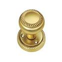 Brass Center Door Knobs