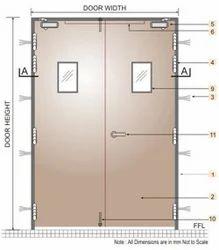 Fire resistant doors fire rated door wooden series - What is a fire rated door ...
