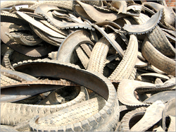 Shredded Tyres