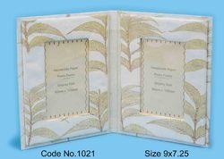 Leaf Impression Handmade Paper Folding Photo Frames
