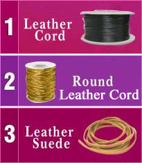 Leather Cord (Shivam Narrow Fabrics)