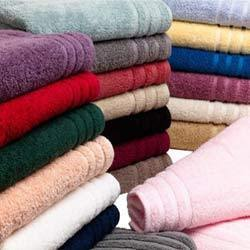 colour terry towels