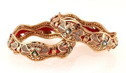 Exceptional Gold Plated Bangle