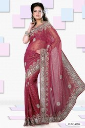 Red Designer Sarees